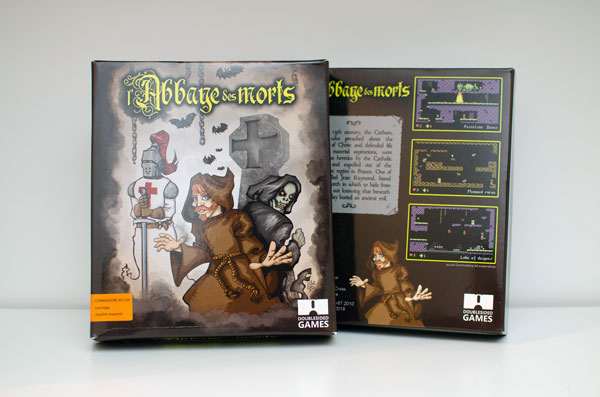 l'Abbaye des Morts edited for Commodore 64 by @DSidedGames