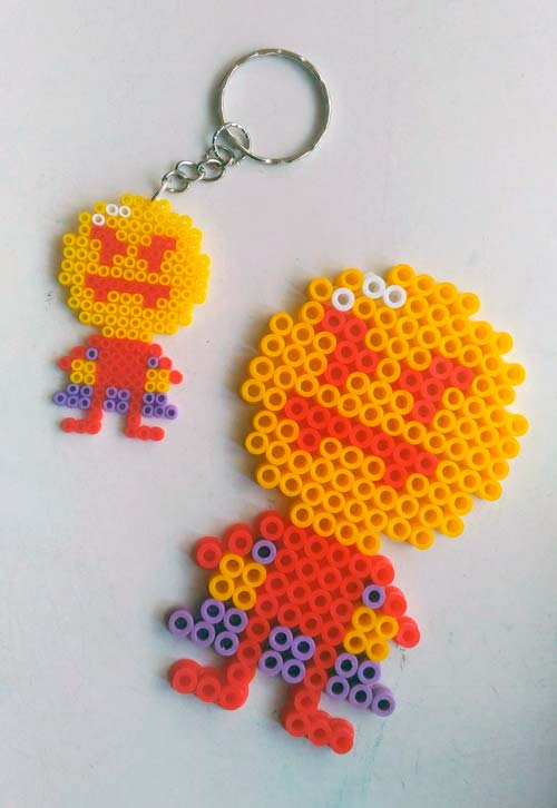 Darkula hama beads by @Francisco_I_L