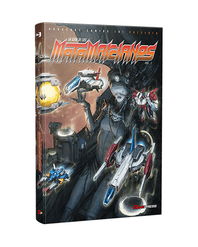Hydorah and Super Hydorah featured in the Spanish shmup guide <em>La Guía de los Matamarcianos</em> by @edgamepress
