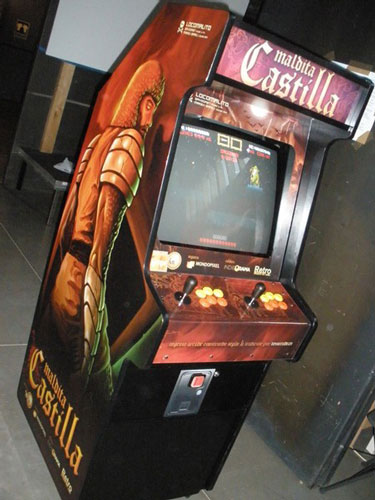The first Maldita Castilla dedicated cabinet. A childhood dream come true. Thanks Tovarcade, @indieorama, @mondopixel and @RetroMadrid for making it happen