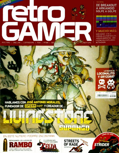 I designed half of the RetroGamer Spain #7 because of curious circumstances