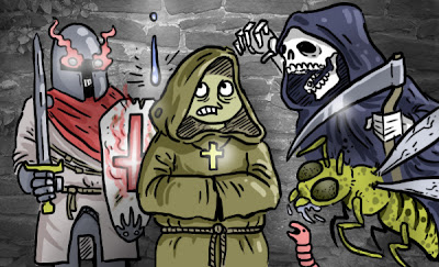 A deep article about l'Abbaye des Morts