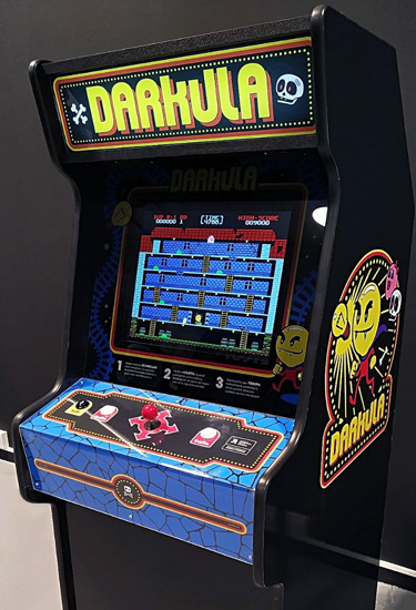 The first Darkula cabinet. It was presented at ArcadeCon 2019