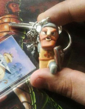 Don Ramiro key chain by @KawaiiandCute