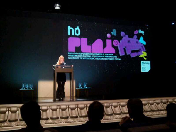 Best original soundtrack award for Maldita Castilla at HoPlay 2013