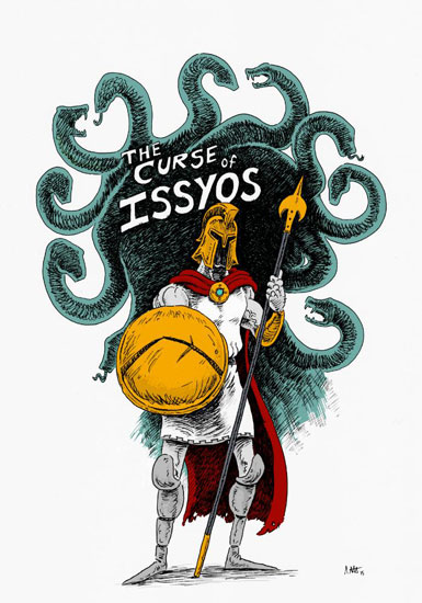The Curse of Issyos by Lee Stevenson