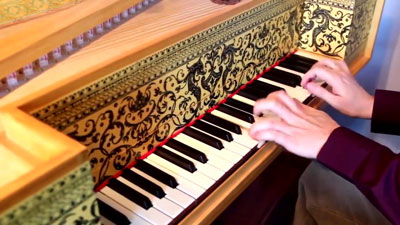 Flemish Virginal/Muselaar crafted by Gryzor87, used later to compose the music of the Meropticon planet in Hydorah