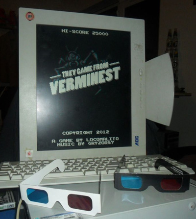 This is how Verminest means to be played in a computer